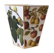 Image of Figs & Apples Wastebasket