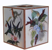 Image of Humming Bird Tissue Box