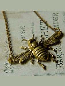 Image of Bee Necklace by Larissa Loden