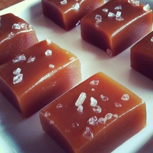 Image of Honey and Sea Salt Caramels