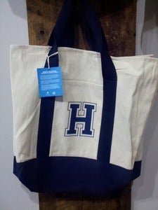 Image of H Canvas Tote