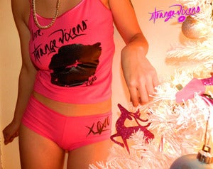 Image of Strange Vixens Pink Sleep Set