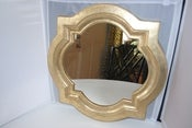Image of Gold Quatrefoil Mirror