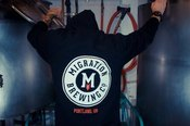 Image of Migration Pullover Hoodie (Black)