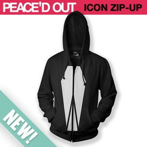 Image of Large Icon Zip Up Hoodie