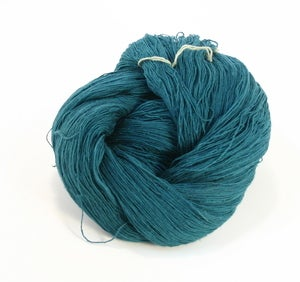 Image of CLOSEOUT Dark Teal Slender Silk Yarn