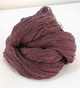 Image of Dusty Purple Slender Silk Yarn