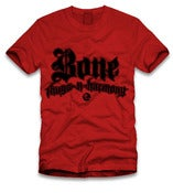 Image of Bonethugs Logo &quot;Red&amp;Black&quot; tee