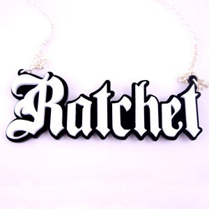 Image of Ratchet Necklace