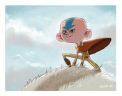 Image of The Last Airbender Print