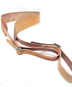 Image of Personalized Leather Camera Strap / Made in USA