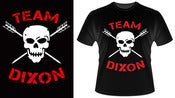 Image of Team Dixon Skull & Arrows tee