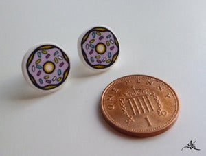 Image of Dinky Donut Earrings