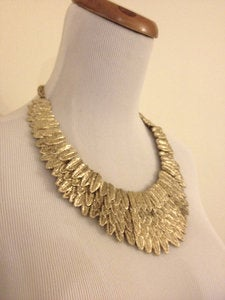 Image of Golden Eagle Collar Necklace
