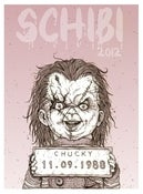 Image of 'Chucky' Monster MugShot print