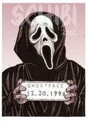 Image of 'Ghostface' Monster MugShot print