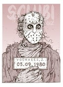 Image of 'Jason' Monster MugShot print