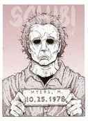 Image of 'Michael' Monster MugShot print
