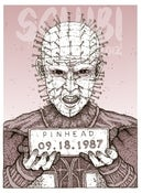Image of 'Pinhead' Monster MugShot print
