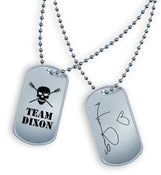 Image of Reedus BBH/Team Dixon Dog Tags
