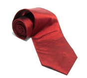 Image of Silk Tie, Red