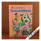 Image of VINTAGE ROCKS &amp; MINERALS BOOK