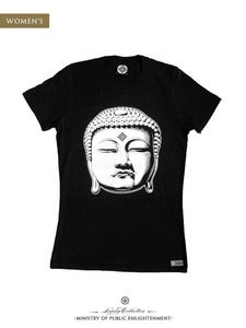 Image of WOMEN'S BUDDHA T-Shirt | Black