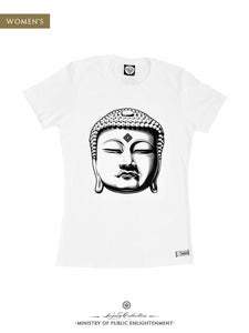Image of WOMEN'S BUDDHA T-Shirt | White