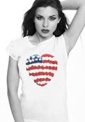 "Image of T-shirt ""AMERICAN HEART"""