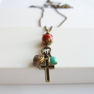 Image of Divine Cross Necklace