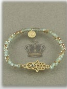 Image of GOLD STRETCH HAMSA