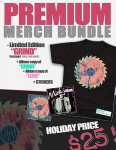 "Image of PREMIUM Merch Bundle | ""GRIND"" TreeShurt PLUS ""GRIND & ""LOVE"""