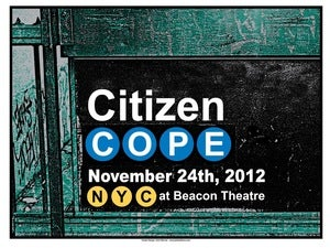 Image of Fall 2012 NYC - Beacon Theatre Poster