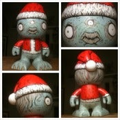 Image of 'Holidaze Monster' hand painted custom vinyl figure