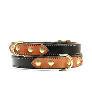 Image of Voyage Collar (Black/Chestnut)
