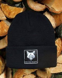 Image of Fuchscraft Beanie 'Fox' - black
