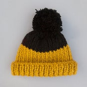 Image of Wooly Hat | Mustard & Black