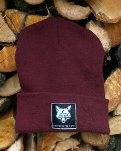 Image of Fuchscraft Beanie 'Fox' - bordeaux