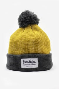 Image of The Yellow Bobble Hat