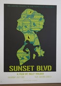 Image of Sunset Blvd Silkscreen Poster
