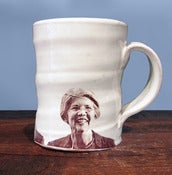Image of Elizabeth Warren Mug by Justin Rothshank