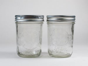 Image of BALL 8oz Half Pint Glass Jars