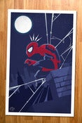 Image of Spider-man Poster Print