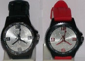 Image of Jordan Jump Man Streetwear Watch w/Black or Red Band