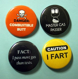 Image of Fart Enthusiast Pinbacks