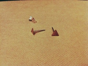 Image of Triangle Studs
