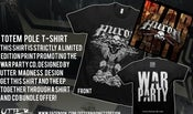 Image of WAR PARTY BUNDLE - EP & TSHIRT - Winter 2012 Tour Special