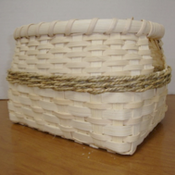 Image of Nov 16 Small Algonquin Basket with Jan Schmidt