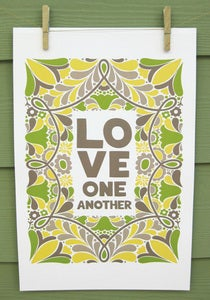 "Image of ""Love One Another"" Poster"