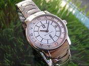 Image of VINTAGE WOMENS BULGARI SOLOTEMPO STEEL QUARTZ